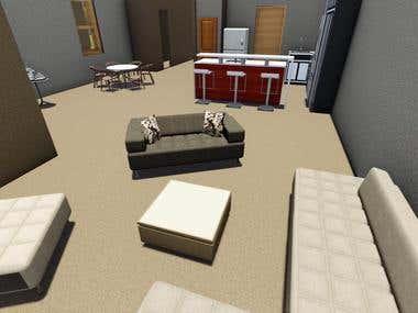 3D Internal Rendering Projects