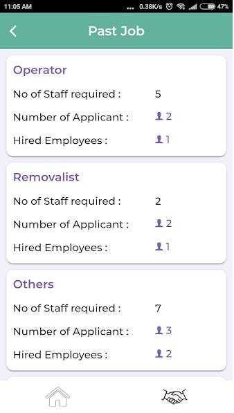 Job Seeking and Posting with Recruitment App
