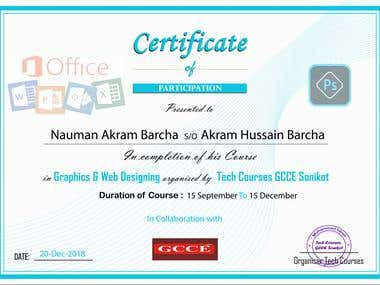 Posters, Banner, Certificate, CV Design