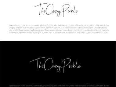 cool font logo