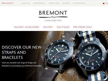 Bremont Online Shopping - Shopify Store
