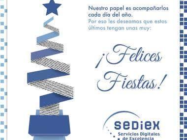 Saludo empresarial Sediex