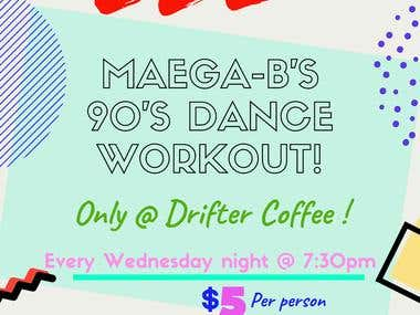 Dance Workout Flyer