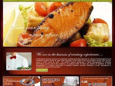 Continental Catering Services.