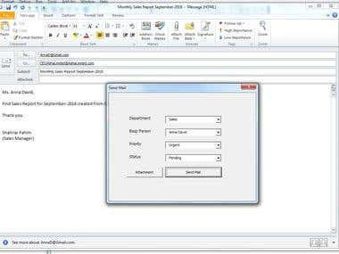 MS Outlook Automation ans cutomization