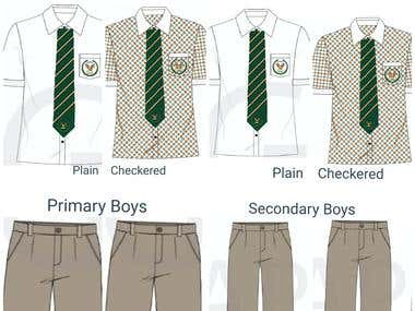 SCHOOL UNIFORM DESIGN
