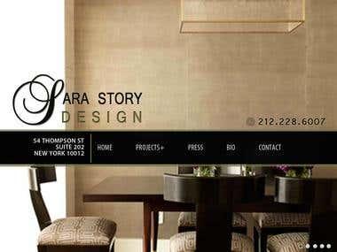 Interior Design Website Project