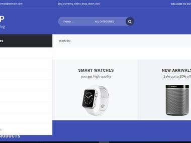 Ecommerse Website Developement