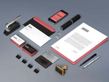 corporate identity template 4