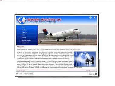 Logistics websites