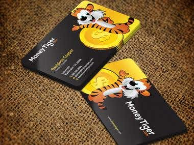 Money Tiger Business Card