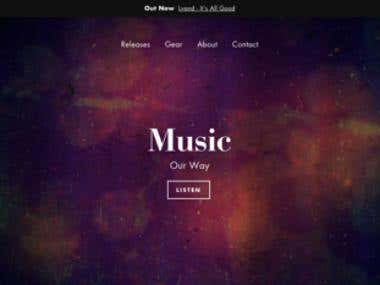 Shopify Music Store