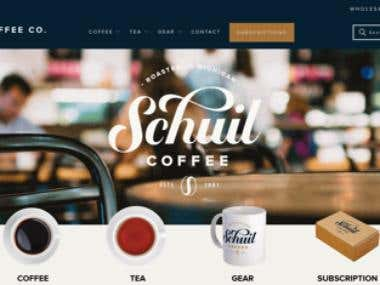 Shopify Coffee Shop