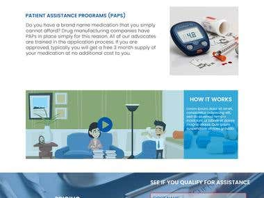 Theme created for a healthcare insurance company