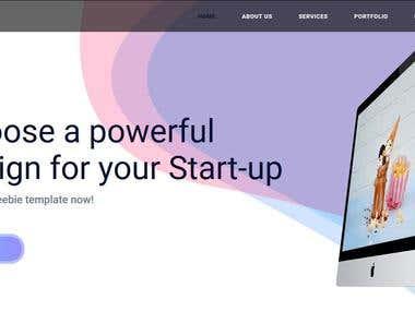 Sierra | STARTUP WEBSITE TEMPATE