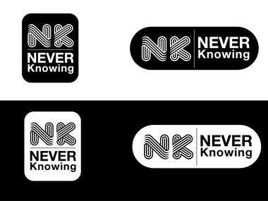 never knowing logo