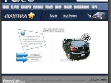 FoxClub - Automobile Club