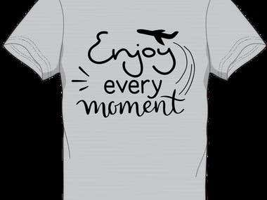 I will do custom on demand t shirt design