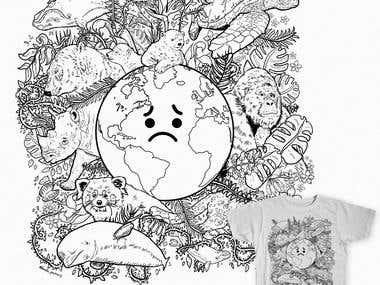 Endangered Species Doodle