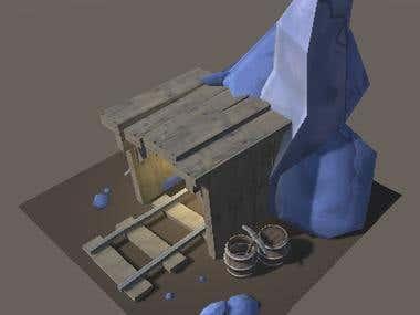3D Mine Asset
