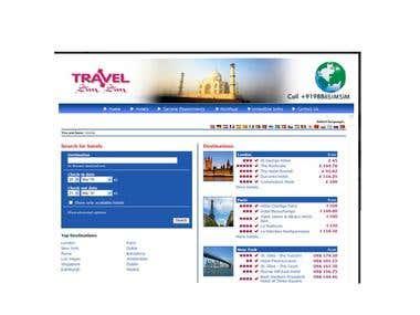 Travel website for sim sim