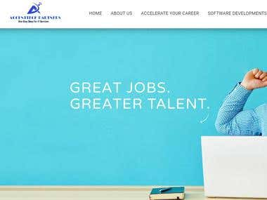 WordPress Website Design & Development for a Job Consultancy
