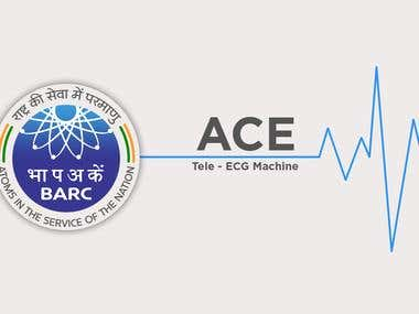 PORTABLE ECG MONITOR for BARC (Govt. Of India)