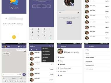 MyChat app