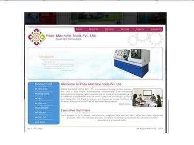 website for pride machine tools