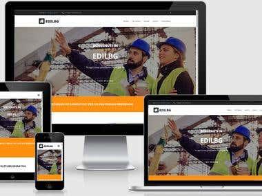 Sito web Edilbg