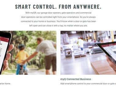 SMART CONTROL. FROM ANYWHERE.