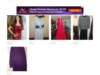 Fostania.. E-commerce website