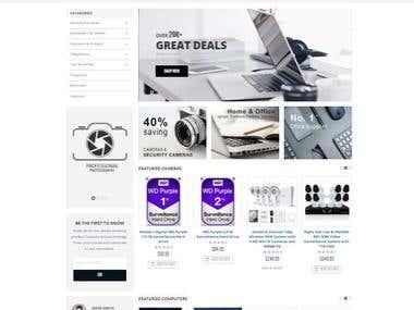 eCommerce Website www.desirebase.com