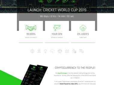 Sports website development