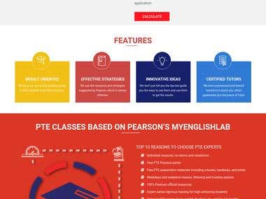PTE Experts website for Expert Education and Visa services