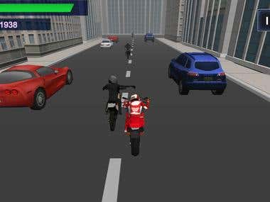Moile games - Bike race game
