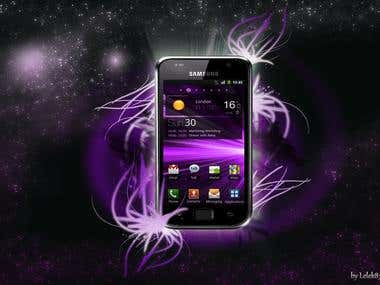 Galaxy S poster concept