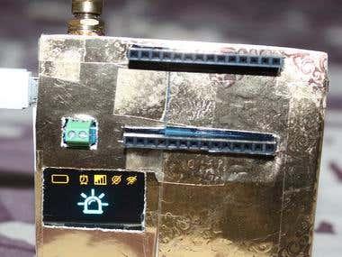 Arduino MKR WAN 1300 + ESP8266 based Kits Tracker