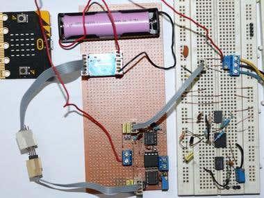 Analog Opto Isolator using HCNR201