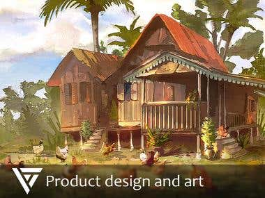 Product design and art