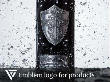 Emblem logo for products