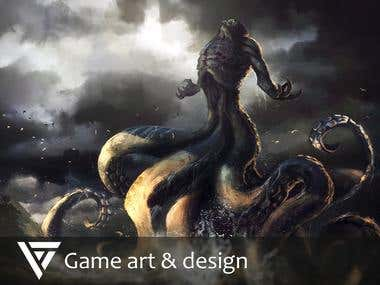 Game art & design
