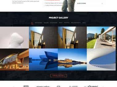 Wordpress Construction Company Site