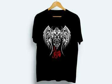 Elegant and custom t-shirt design