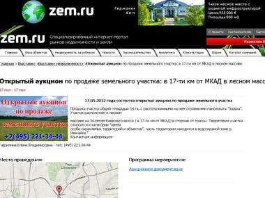 Russia's largest real estate portal