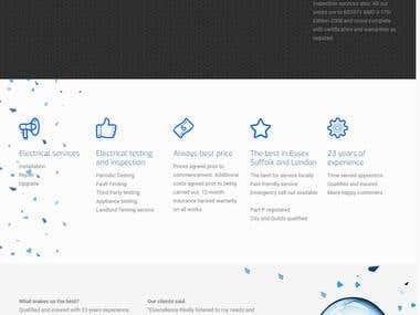 business website creation