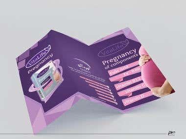Brochure design for Ordano company