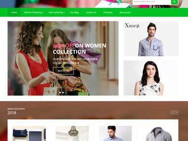 Sore-villa E-commerce site view: https://oidokan.com
