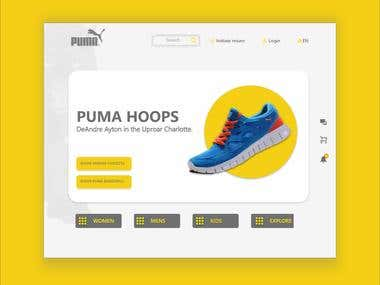 PUMA websit unofficial