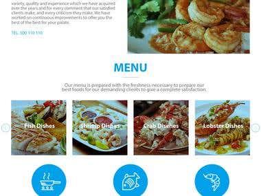 Restaurant web site!